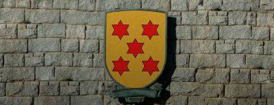 Escudo heráldica Etxarandio Echarandio muro