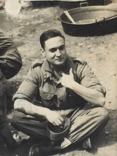 Mi padre en el servicio militar