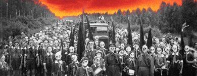 Pioneers_Defense_Drill_Leningrad_USSR_1937_Photographer_Viktor_Bulla