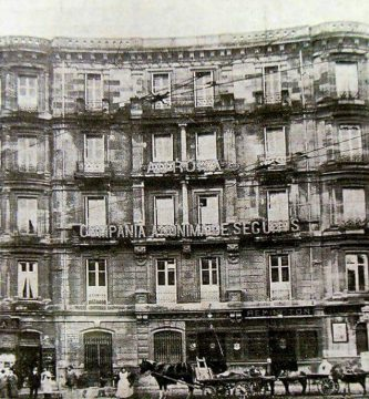 La sede del Crédito de la Unión Minera en Bilbao