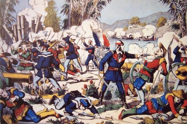 Combate_franco-vietnamita-Conchinchina